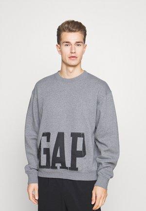 LOGO CREW - Sweatshirt - heather grey