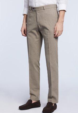 LANTIER - Spodnie materiałowe - beige