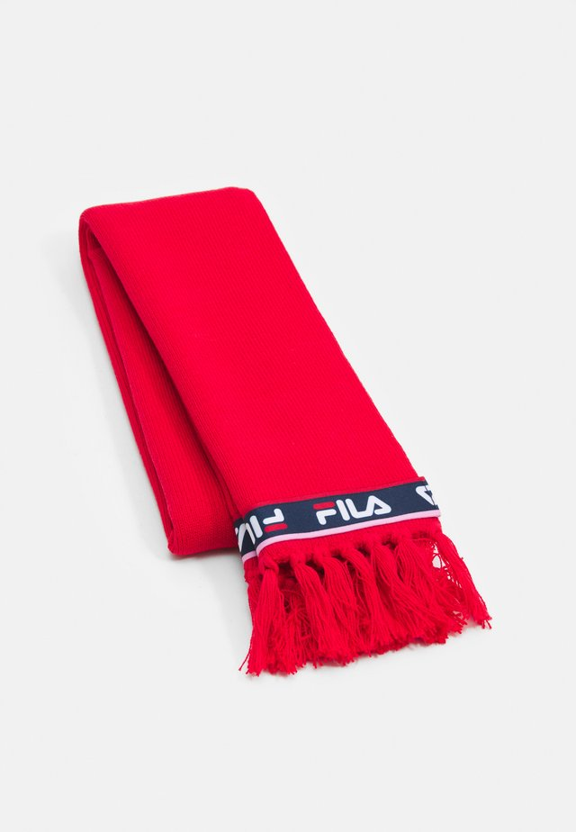 TAPED SCARF UNISEX - Scarf - true red