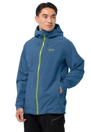 HIGHEST PEAK - Waterproof jacket - indigo blue