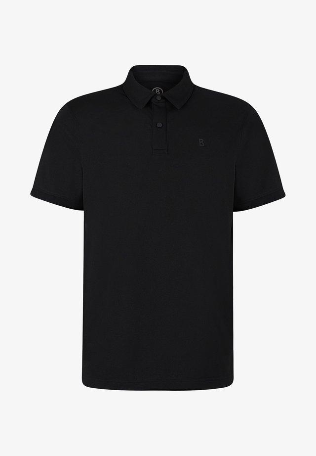 TIMO - Poloshirt - schwarz