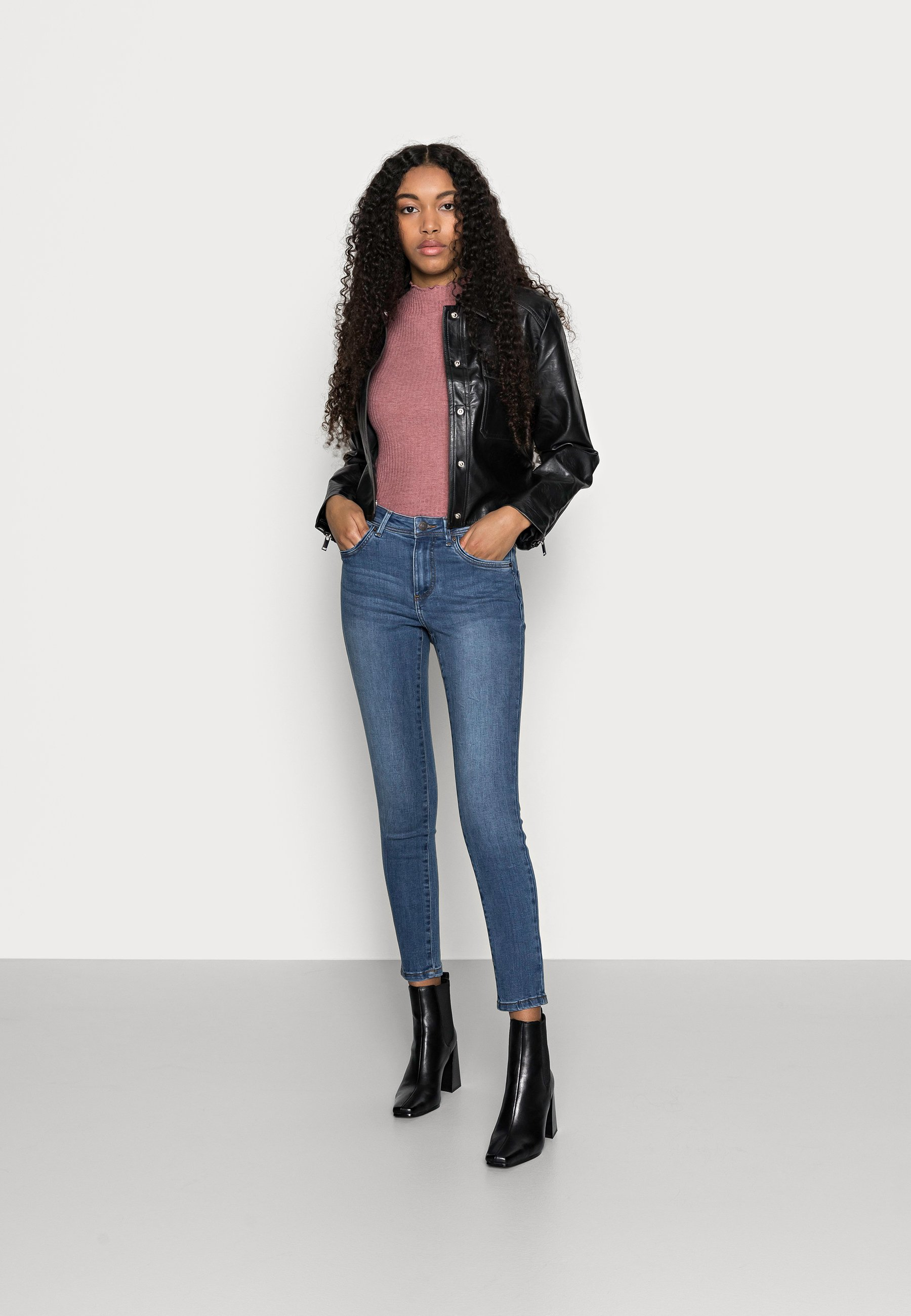 Donna VMTANYA PIPING - Jeans Skinny Fit
