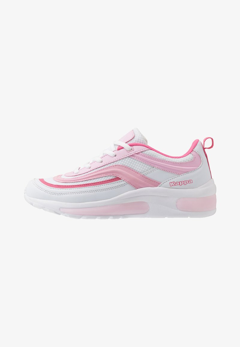 Kappa - SQUINCE MF - Sports shoes - white/rosé
