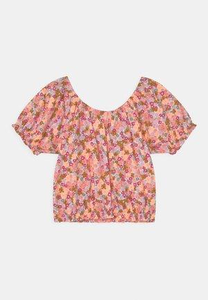 DAPHNE PUFF SLEEVE - Camiseta estampada - vanilla