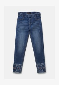 Desigual - Jeggings - blue
