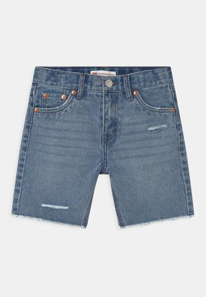 GIRLFRIEND MIDI  - Short en jean - blue denim