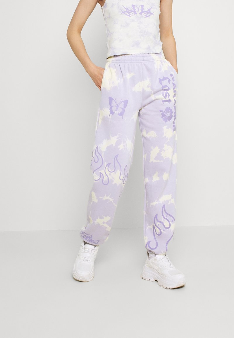 NEW girl ORDER - TIE DYE PARADISE LOST JOGGER - Tracksuit bottoms - multi