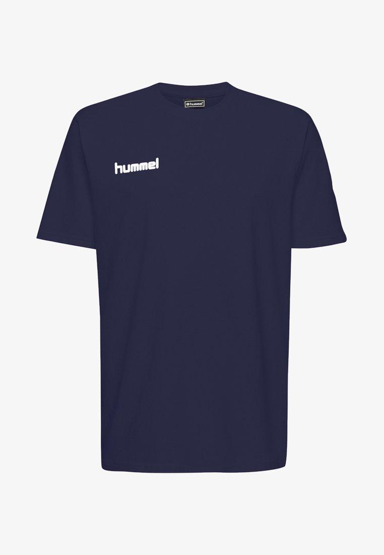 Hummel - HMLGO - Print T-shirt - marine