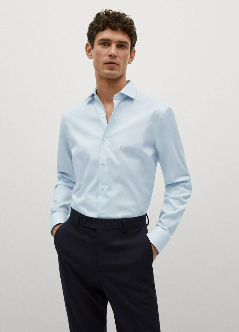 Mango - Formal shirt - sky blue