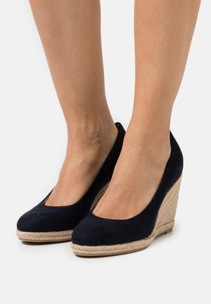 Zapatos altos - navy