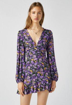 Denní šaty - mauve