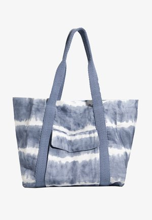 TIE-DYE-SHOPPER - Tote bag - blue