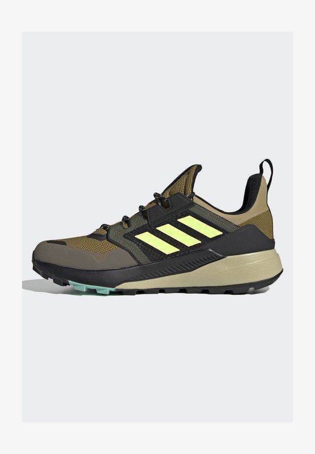 DURAMO CLASSIC LIGHTMOTION RUNNING SHOES - Scarpa da hiking - core black/ftwr white/solar yellow