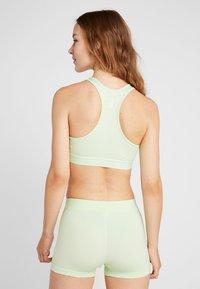 adidas Performance - DRESS SET - Sportovní šaty - black/glow green - 4