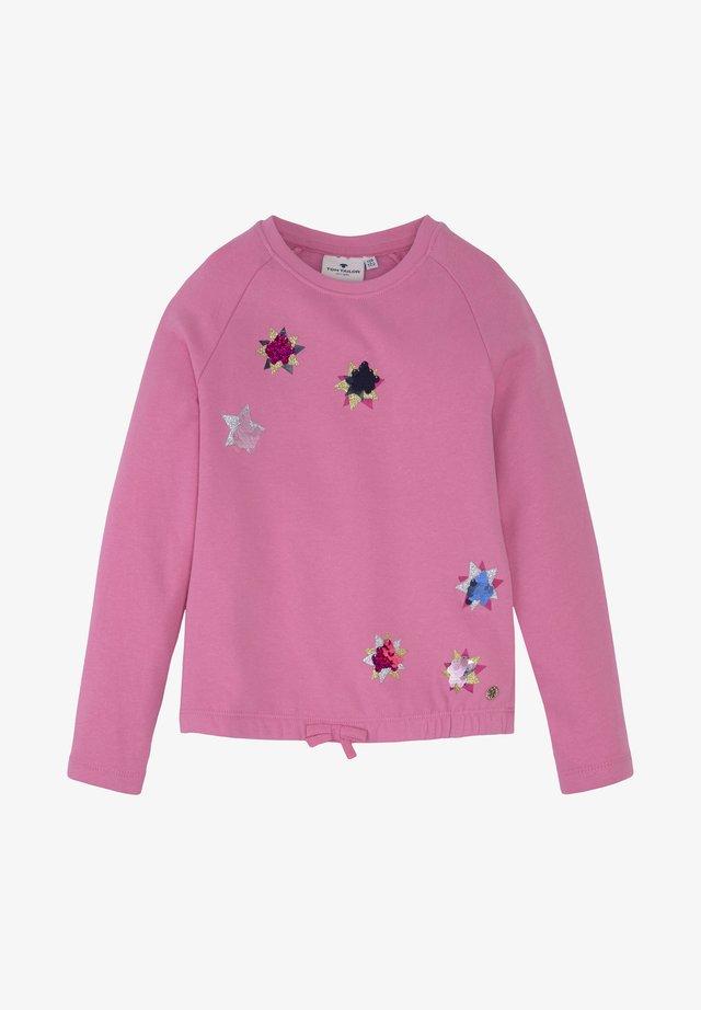 Sweatshirt - wild orchid|pink