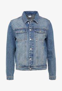 FOURTEEN DISTRESSED BUE - Giacca di jeans - blue denim