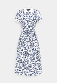 Polo Ralph Lauren - Shirt dress - white/dark blue - 4
