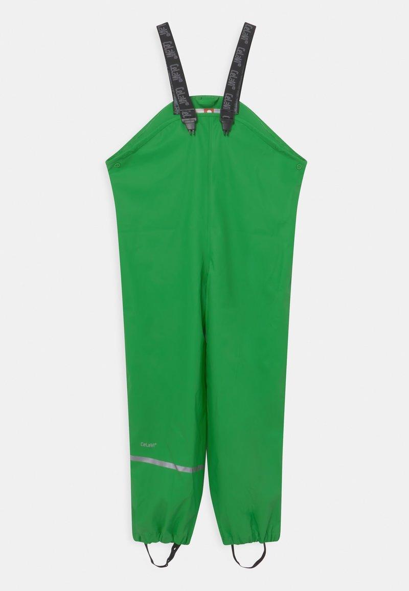 CeLaVi - RAINWEAR PANTS  RAINWEAR UNISEX - Rain trousers - green