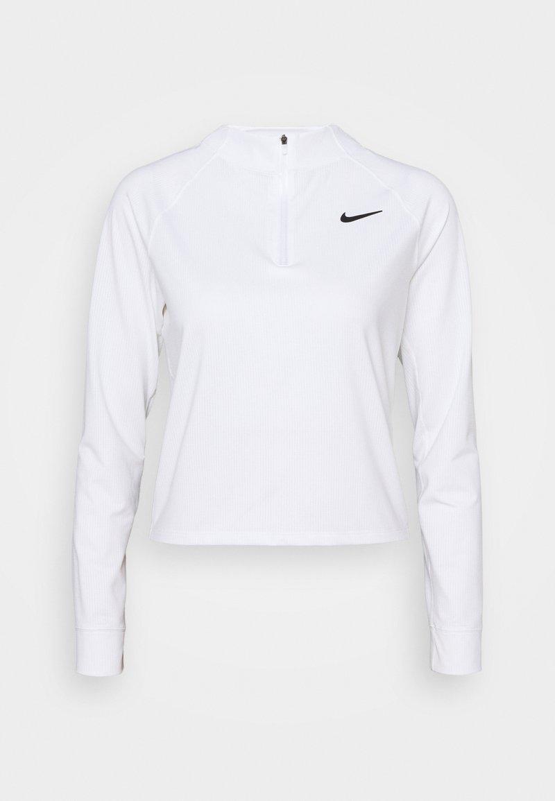 Nike Performance - Camiseta de manga larga - white/black