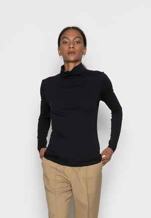 LONGSLEEVE ROLLNECK - Long sleeved top - black