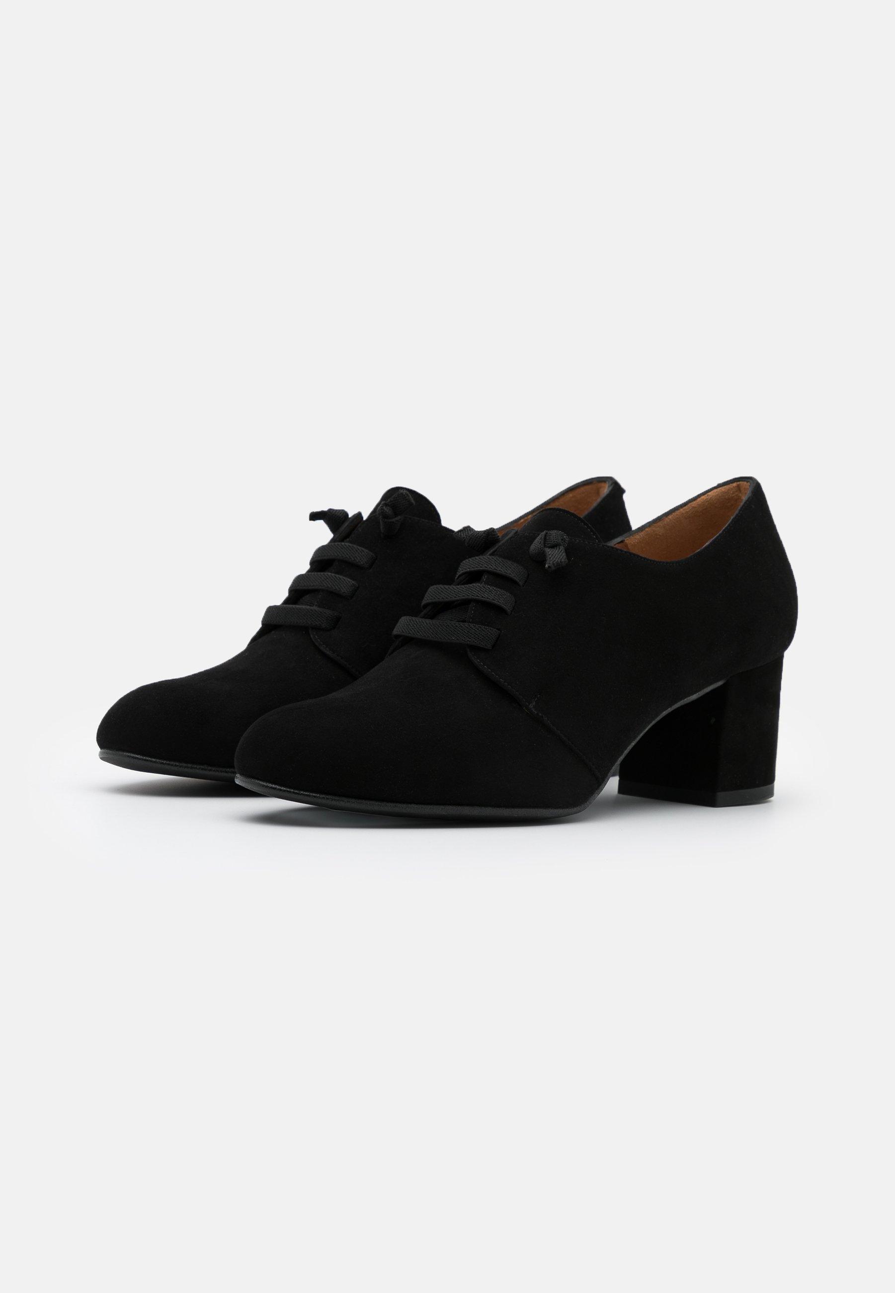 Outlet Store Fast Express Women's Shoes Brenda Zaro LAOS Lace-up heels black tPQPZPSRi p8WmRpmGN