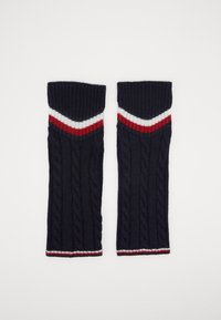Tommy Hilfiger - LEG WARMERS CABLE - Leg warmers - navy - 3