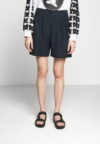 McQ Alexander McQueen - TROUSERS - Shorts - deep ink - 0