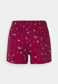 Hunkemöller - SHORT SKI - Pyjama bottoms - rumba red - 1