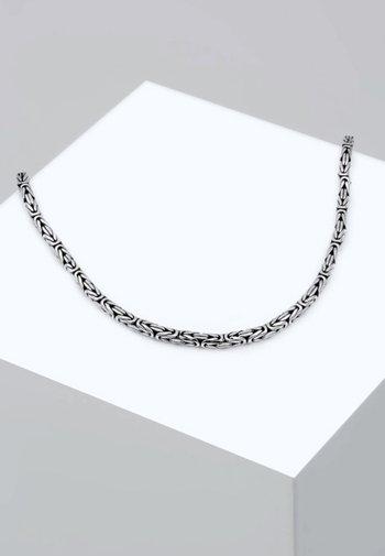 Necklace - silver coloured