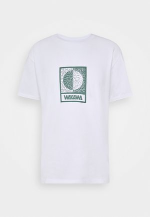 UNISEX TIKSI - Print T-shirt - white
