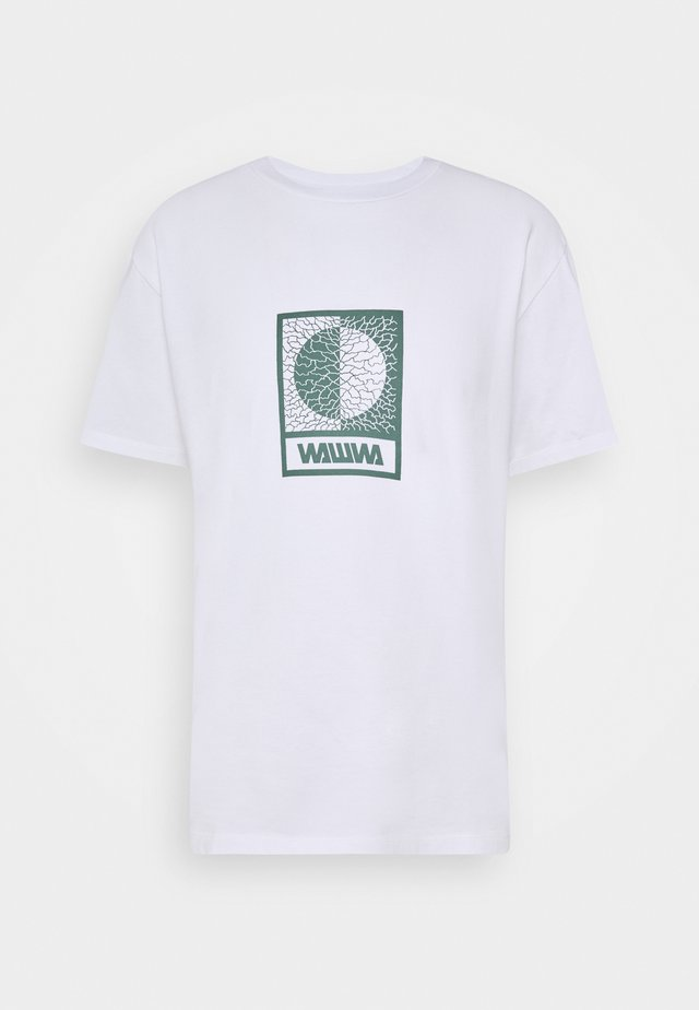 UNISEX TIKSI - T-shirt imprimé - white