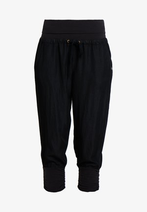 LINE PANTS - Broek - solid black
