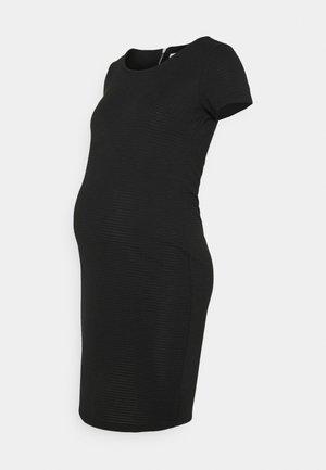 DRESS ZINNIA - Robe en jersey - black