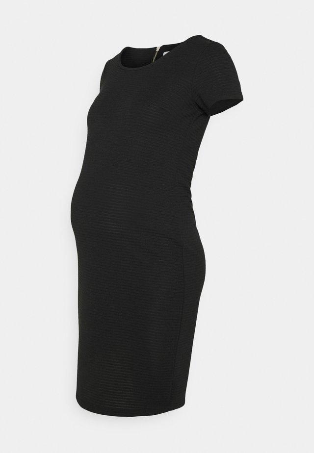DRESS ZINNIA - Sukienka z dżerseju - black