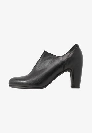 WILMA - Ankle boots - light black