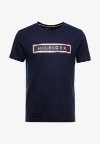 Tommy Hilfiger - CORP FRAME TEE - Print T-shirt - blue - 3