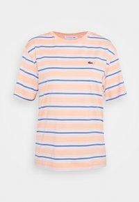 Lacoste - T-shirt z nadrukiem - ledge/turquin blue - 0