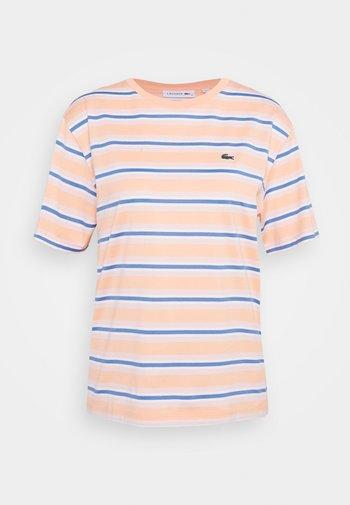 Print T-shirt - ledge/turquin blue