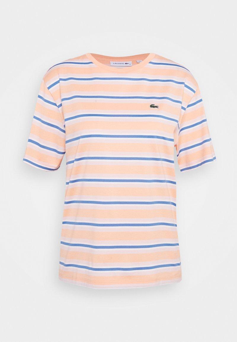Lacoste - T-shirt z nadrukiem - ledge/turquin blue