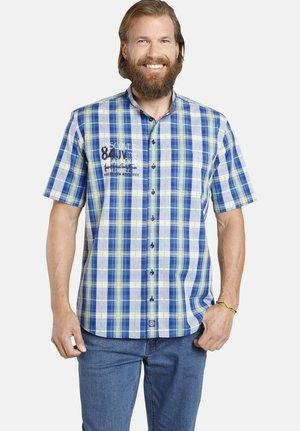 LEVIK - Shirt - blau kariert