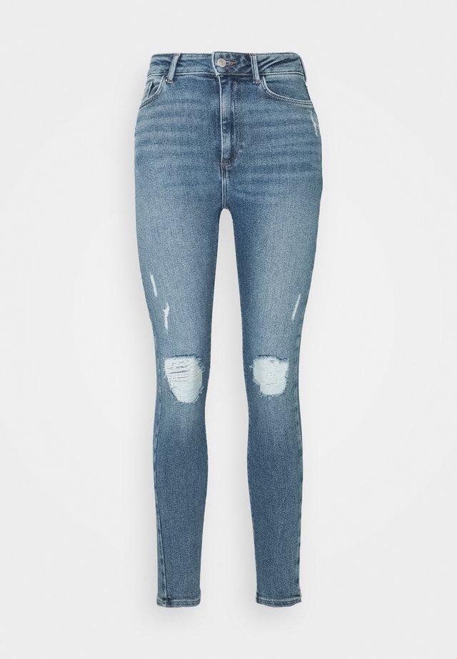 VINTAGE DISCO BUSTED KNEE KATHY - Jeans Skinny Fit - teal