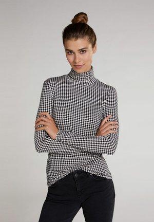 Sweatshirt - black offwhite