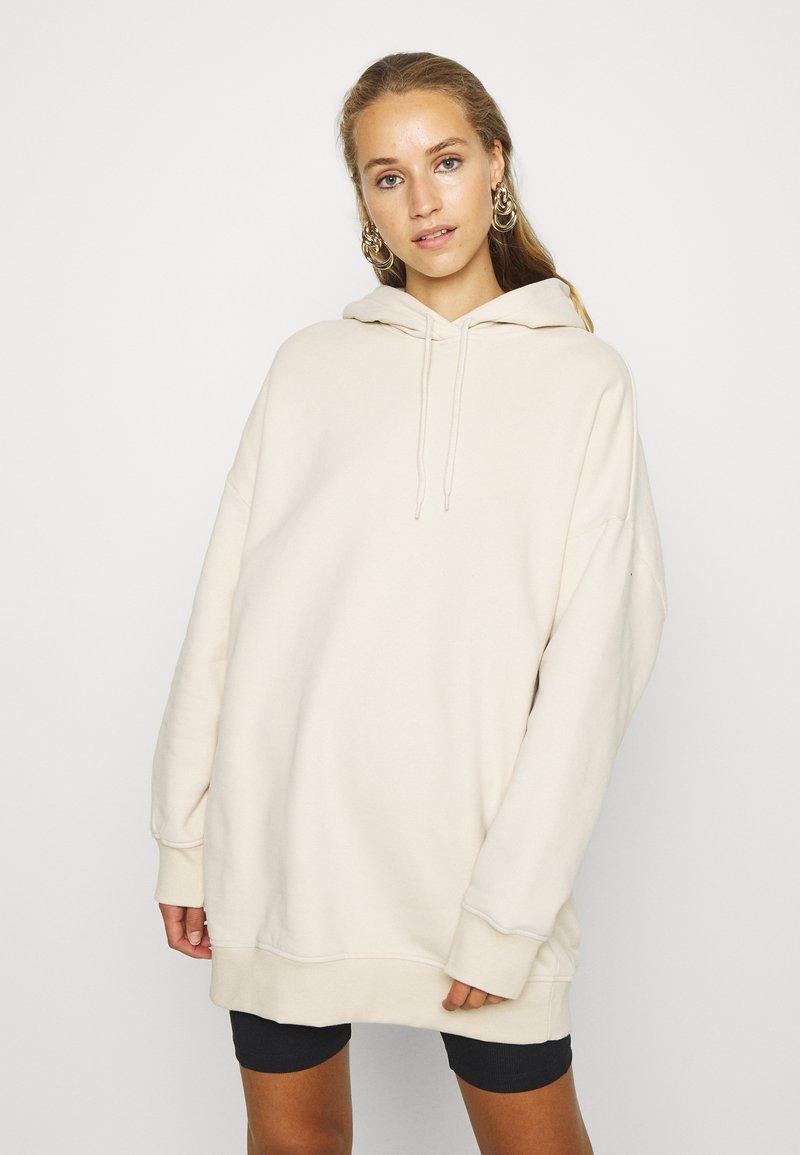 Monki - BAE HOODIE UNIQUE - Hoodie - beige dusty light
