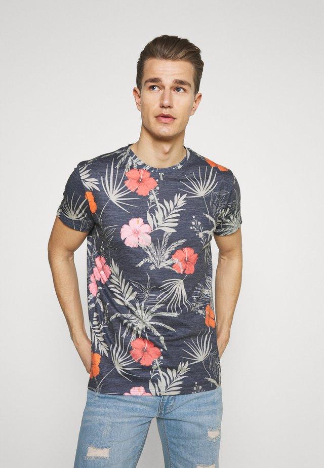 CADIZ BRILIANT - T-shirt med print - navy