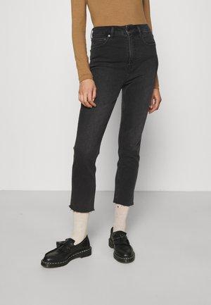 CIGARETTE TRYAL  - Straight leg jeans - absolute black