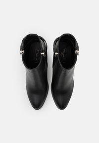 ONLY SHOES - ONLTALEEN ZIPPER   - Botki - black - 5