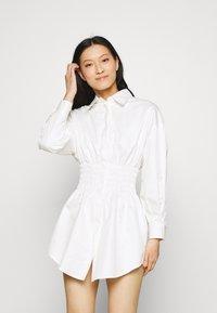 Mossman - THE SHADOW DRESS - Shirt dress - white - 0