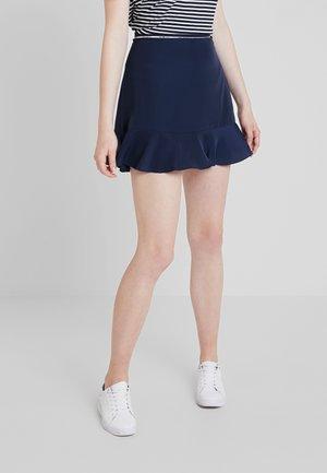 PIPING DETAIL SKIRT - A-line skirt - black iris