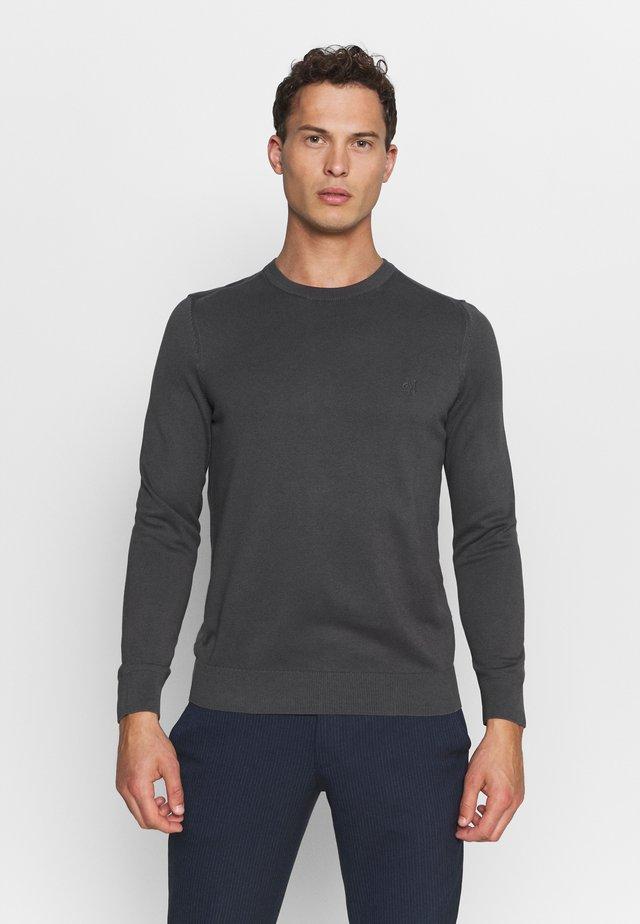 CREW NECK - Jersey de punto - gray