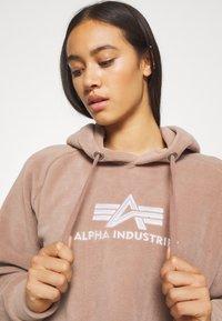 Alpha Industries - POLAR HOODY - Hoodie - mauve - 3